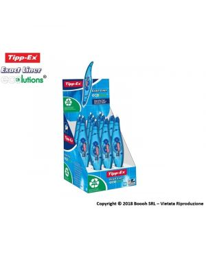 Box 10 correttori a nastro 5mmx6mt ecolution exact liner tipp-ex bic 8104755 3086126101385 8104755_46136 by Bic