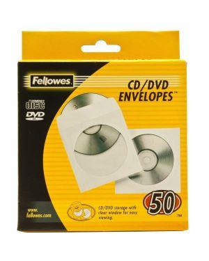 Busta carta porta cd pz.50 13x15,5 FELLOWES 90690 0077511906909 90690_46434