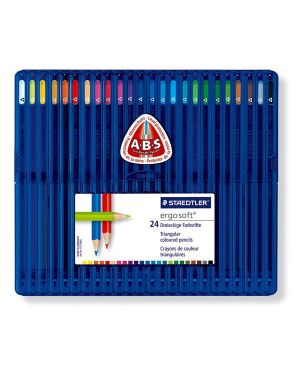 Astuccio 24 matite colorate ergo soft staedtler 157 SB24 4007817157107 157 SB24_46463 by Esselte