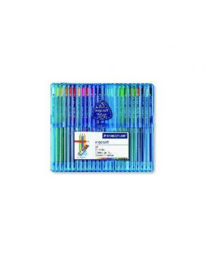 Astuccio 24 matite colorate ergosoft staedtler 157 SB24_46463 by Esselte