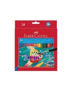 Astuccio 24 pastelli colorati acquerellabili red range faber castell 114425 4005401144250 114425_46469 by Faber-castell