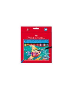 Astuccio 24 pastelli colorati acquerellabili red range faber castell 114425_46469 by Esselte