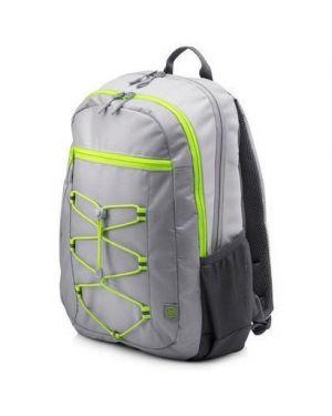 Hp 15.6 active grey backpack HP Inc 1LU23AA 190781611905 1LU23AA