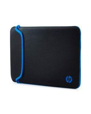 Hp 14.0 blk/blue chroma sleeve V5C27AA#ABB