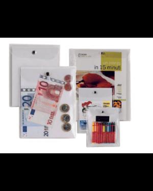 Busta con bottone press 3e 11,2x20,5cm Confezione da 40 pezzi 441120_46761 by Esselte