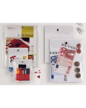 Busta con bottone press 3e 11,2x20,5cm 441120_46761 by Esselte