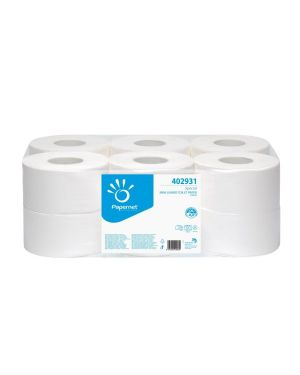 Rotolo carta igenica mini jumbo 609 strappi pz.12 PAPERNET 402931 8024929429317 402931_47299 by Papernet