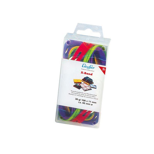 Elastico x-band Ø100 (150x11mm) scatola 100gr colori ass 515198 4006677591021 515198_47370 by Lebez