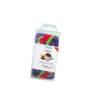 Elastico x-band Ø100 (150x11mm) scatola 100gr colori ass 515198 4006677591021 515198_47370 by Esselte