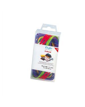 Elastico x-band Ø100 (150x11mm) scatola 100gr colori ass 515198 4006677591021 515198_47370