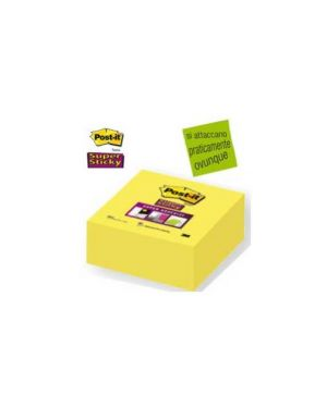 Blocco 350foglietti post-it®super sticky 2028-s 76x76mm giallo oro 57524_47460 by Post-it