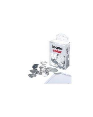 Scatola 100 fermagli angolari in alluminio APPC_47486 by Leone
