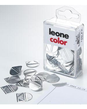 Scatola 100 fermagli angolari in alluminio APPC 8007979008923 APPC_47486 by Leone