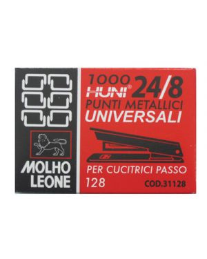 Punti leone 128 24/8 pz.1000 31128_47718 by Esselte