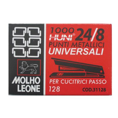 Punti leone 128 24 - 8 pz.1000 MOLHO LEONE 31128 8002057311285