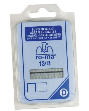 Punti 13 - 8 in blister da 2240 p. ro-ma 1110505 8005231435067 1110505_47771 by Esselte