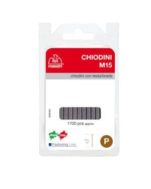 Chiodini c - testa m15 in blister da 1700 c. ro-ma 1130803 8005231465019 1130803_47774 by Ro-ma