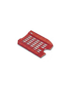 Vaschetta portacorrispondenza e040 rosso trasparente modula leonardi E040TR_47808 by Esselte