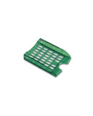 Vaschetta portacorrispondenza forate e040 verde trasp.fellowes E040TV_47809
