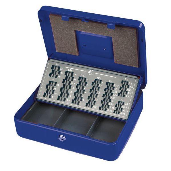 alta qualità Garanzia di soddisfazione al 100% dal costo ragionevole Cassetta portavalori europa 30x24x9cm blu 2553/4A 8022715255348