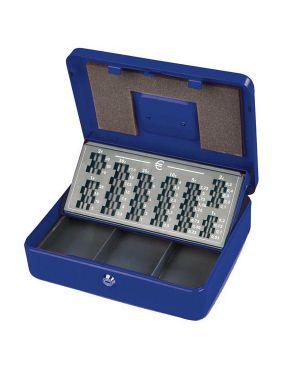 Cassetta portavalori europa 30x24x9cm blu 2553/4A 8022715255348 2553/4A_47846 by Esselte