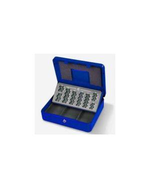 Cassetta portavalori europa 30x24x9cm blu 2553/4A_47846