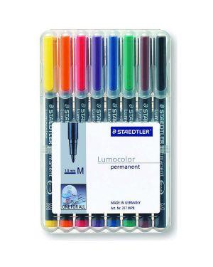 Busta 8 pennarelli lumocolor permanent 317 m 1.0mm 317WP8 4007817310472 317WP8_47925