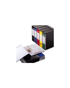 Registratore esa p80 nero dorso 8cm f.To protocollo Confezione da 10 pezzi 39019810_47936 by Esselte