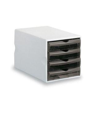 Cassettiera modula 4 big fume' trasp. art.24050 leonardi 24050TGF 8015687019605 24050TGF_48085 by Fellowes