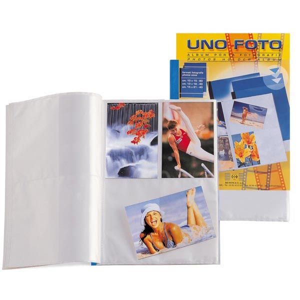 Album porta foto a 40 spazi 13x18 f.to 22x30cm 55250207_48122 by Esselte