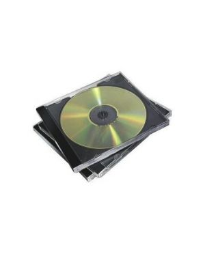Pack 5 custodia cd singola jewel case base nera 98305 77511983054 98305_48264