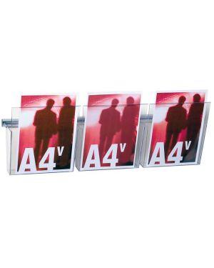 Kit vision a4 l75cm con 3 tasche a4 trasparenti VS/3 48311A VS/3_48311 by Esselte