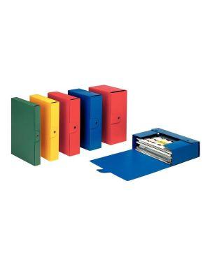 Scatole eurobox dorso10 rosso Esselte 390330160  390330160_48355