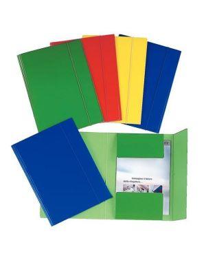 Cartelle 3 lembi c46 plast verde Esselte 390346180  390346180_48364