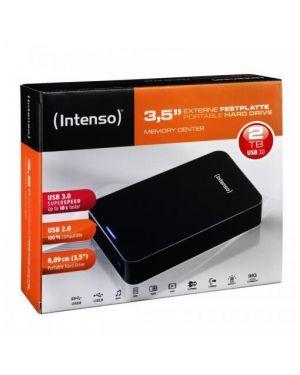 Hard disk esterno nero 2tb 3.5p Intenso 6031580 4034303014941 6031580
