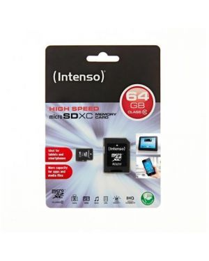 Micro sd con adattatore 64gb c10 Intenso 3413490 4034303017973 3413490 by No