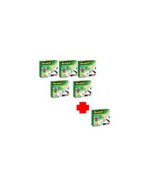 Promo pack 5+1 nastro adesivo scotch magic 810 permanente 19mmx33mt 29125_48761 by Scotch