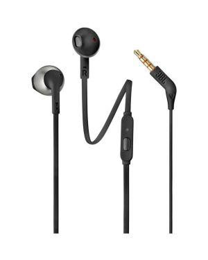 In ear con microfono nero JBL JBLT205BLK 6925281928338 JBLT205BLK
