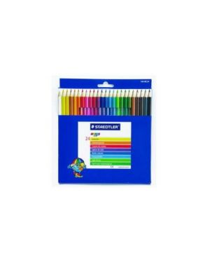 Astuccio 24 matite colorate 144 noris club staedtler 144 NC24_48936 by Staedtler
