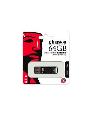 Dt elite g2 64gb usb 3.0 Kingston DTEG2/64GB 740617266535 DTEG2/64GB