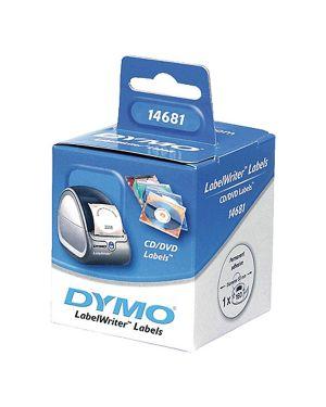 Rotolo 160 etichette dymo lw diam. 57mm x cd - dvd bianco 146810 S0719250 5411313146814 S0719250_49066