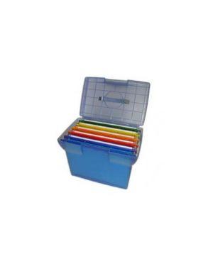 Valigetta arianna blu traslucido + 5 cartelle joker color int.33 Arianna BL5_49405