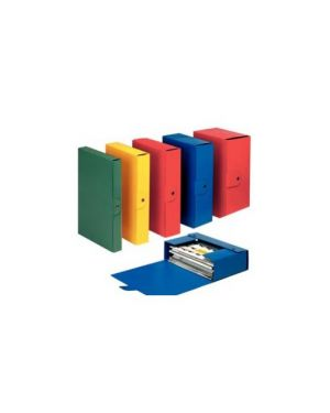 Scatola progetto c32 dorso 12 rosso Confezione da 5 pezzi 390332160_49434 by Esselte