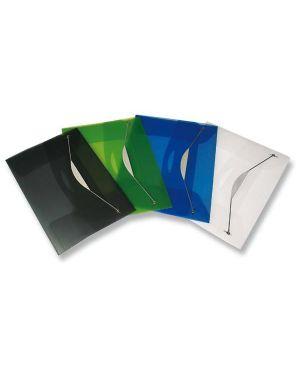 Cartellina con elastico in ppl trasp. blu fellowes 40336 8015687015966 40336_49451 by Esselte