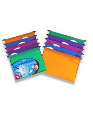 10 cartelle sospese cassetto 39 - v mfx in ppl colori assort 2101565 5028252179102 2101565_49471 by Rexel