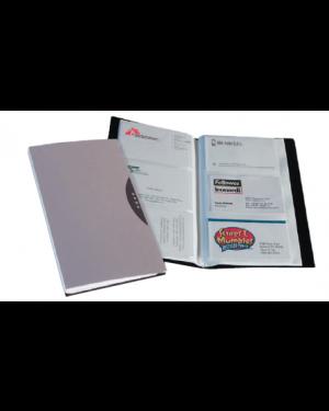 Portabiglietti visita 120 tasche nero c/custodi 40345_49553