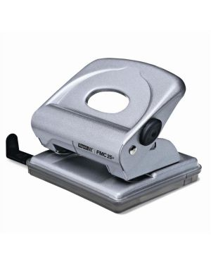 Perforatore 2 fori passo 8 fmc25+ max 30fg argento rapid 21835502_49720 by Esselte