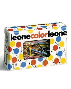 Scatola 100 fermagli colorati e metallizzati n.2 mm26 leone color FX10 49762 A FX10_49762