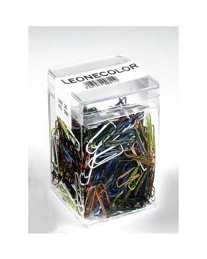 Barattolo 500 fermagli colori metal n.2 mm26 leone color FX50 8007979003119 FX50_49766 by Leone