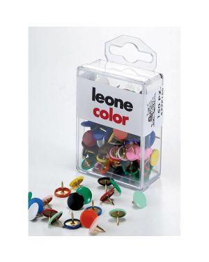 Scatola 150 puntine colorate assortite leone color APPP150 8007979006028 APPP150_49768 by Leone
